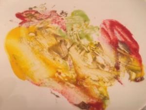 kunst auf dem Teller